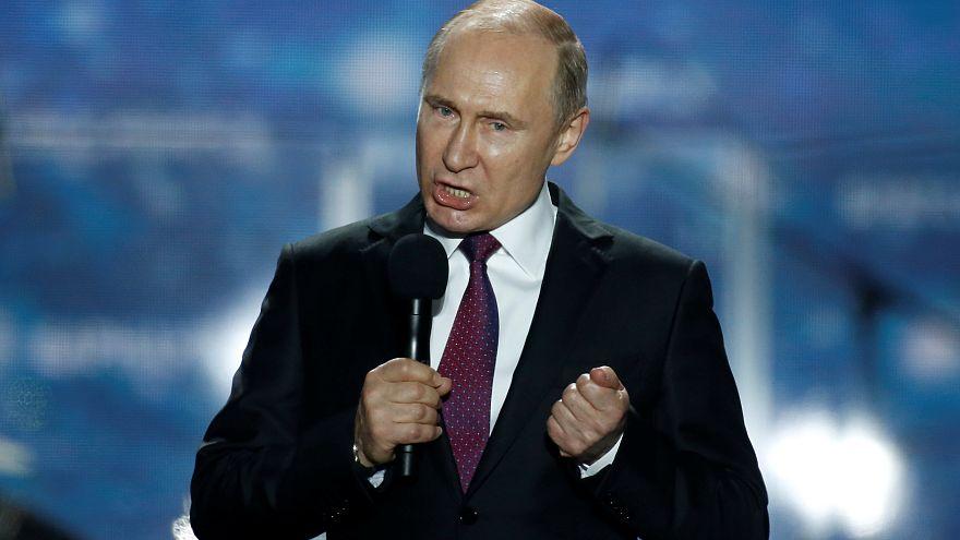 A Krímben kampányolt Putyin