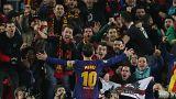 Messi lleva al Barcelona a cuartos de la Champions