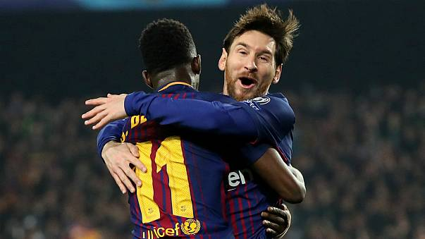 """Barcelona e Bayern sem problemas rumo aos """"quartos"""" da Liga dos Campeões"""