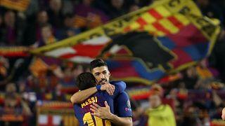 """""""Барселона"""" и """"Бавария"""" идут в 1/4 финала"""