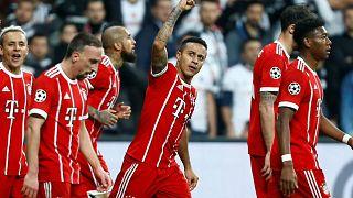 Champions League: FC Bayern steht im Viertelfinale