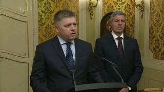 Slovak PM offers to resign to quell country's protests