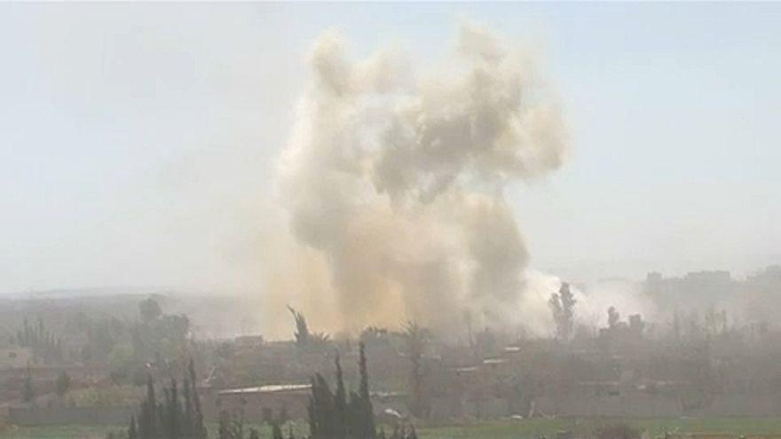 Szíria: Hamúríját is bevette a rezsim