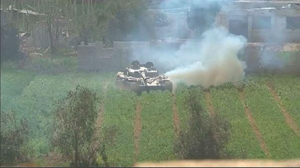 Syrian regime advances on Ghouta