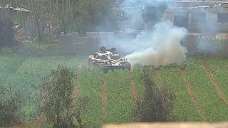 Les chars syriens entrent dans Hammouriyeh