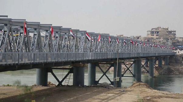 Старый мост Мосула восстановлен и открыт