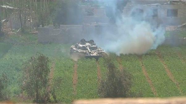 """El Ejército sirio """"controla parcialmente"""" una ciudad clave en Guta Oriental"""