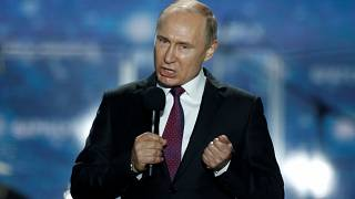 Campagne présidentielle 2018 Vladimir Poutine.