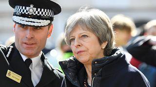 Premierministerin May in Salisbury
