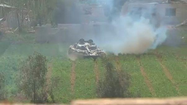 Forças sírias avançam em Ghouta Oriental
