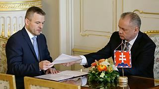 رئیس جمهوری اسلوواکی و نخست وزیر جدید