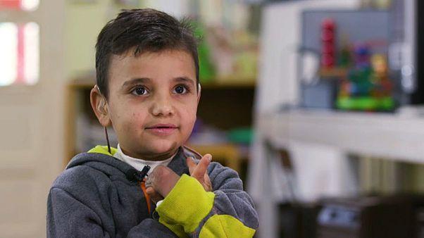Ein Kind so alt wie der Syrienkrieg