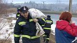 Székely falut fenyeget a romániai árvíz