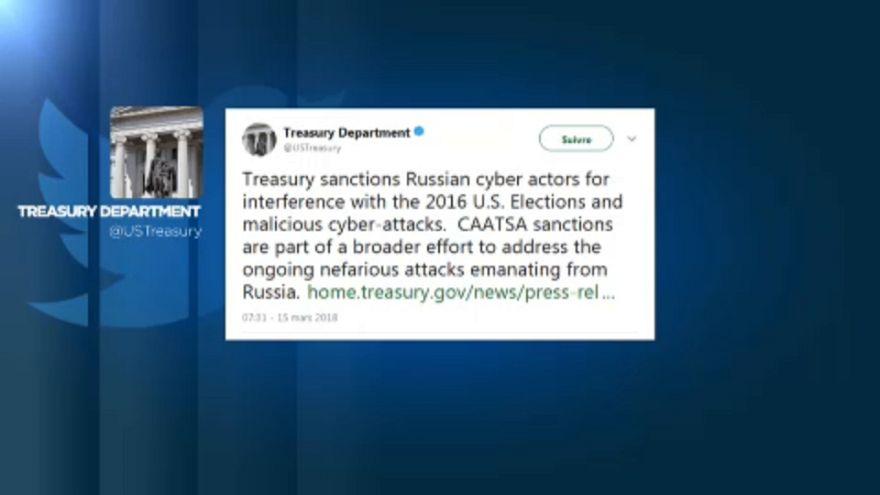 'tweet' do Departamento do Tesouro norte-americano