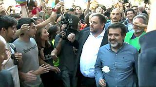El Supremo prohíbe ir a votar a Junqueras y Sànchez