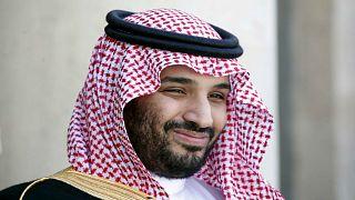ولي العهد السعودي الأمير محمد بن سلمان في قصر الإليزيه في باريس.