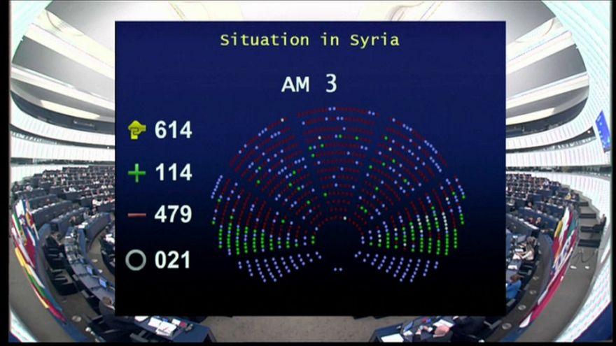 """Il parlamento europeo ad Ankara: """"Ritiri le truppe da Afrin"""""""