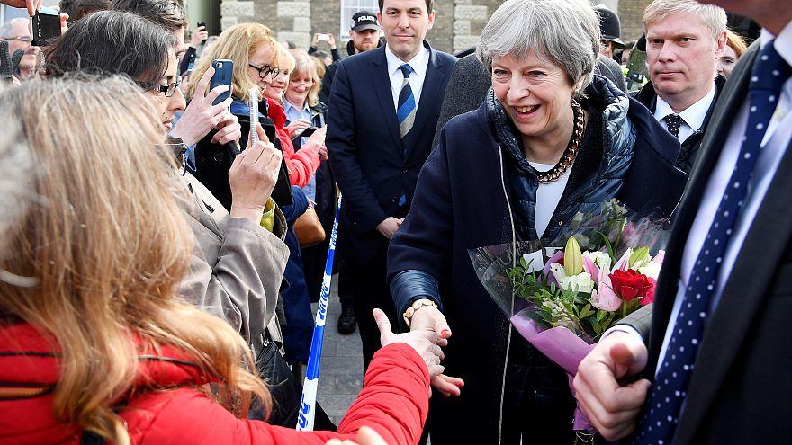 Theresa May à Salisbury