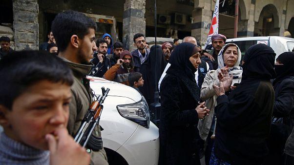 أكثر من 20 ألف مدني يغادرون جحيم الغوطة الشرقية