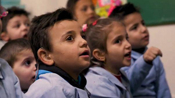 Savaşla yaşıt Suriyeli çocuklar