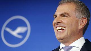 Carsten Spohr elnök-vezérigazgató örül az eredményeknek