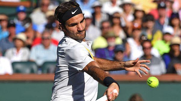 Roger Federer sur son nuage