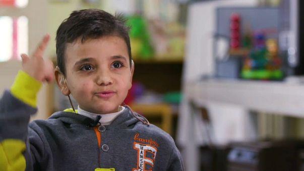 Mohammed: filho da guerra síria