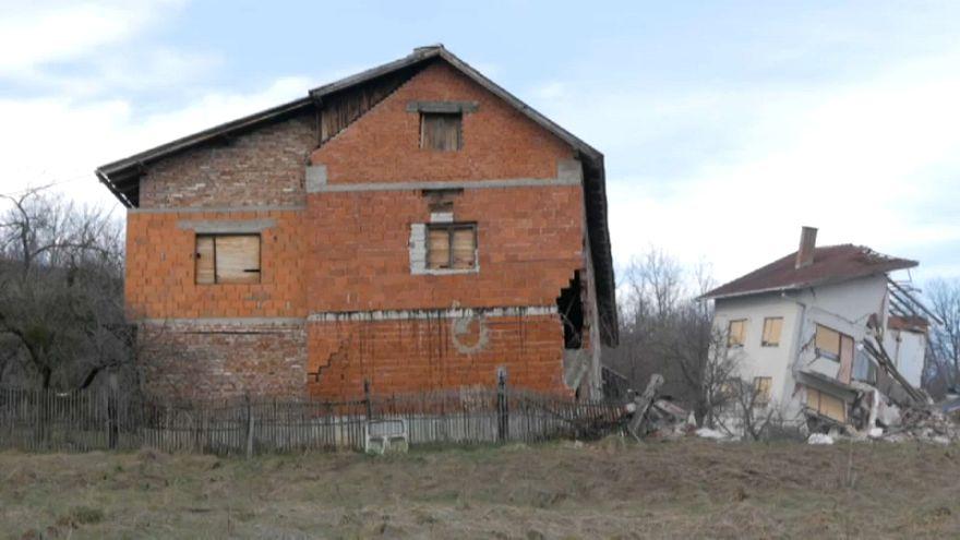 Aluimento de terras na Croácia