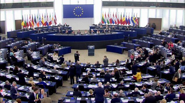 European Parliament passing resolution