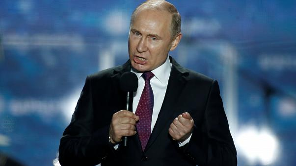 Putyin a Marsra vágyik