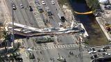 Varios muertos al derrumbarse un puente en Miami