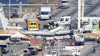 Φλόριντα: Κατέρρευσε πεζογέφυρα- Τέσσερις νεκροί