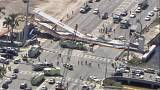 Four people killed after pedestrian bridge collapses in Florida