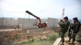 جنديان لبنانيان على الحدود الجنوبية