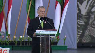 Orbán amenaza a la oposición