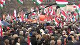 Zahlreiche Demonstrationen in Budapest