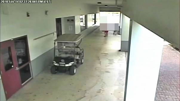 Parkland Deputy captured riding in a golf buggy