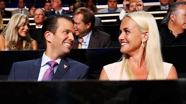 زوجة دونالد ترامب الإبن تطلب الطلاق