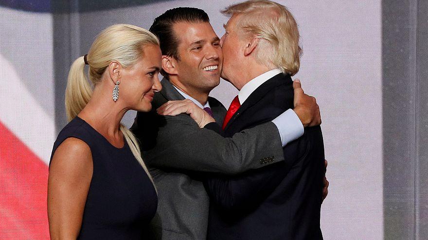 Válik ifjabb Donald Trump és felesége