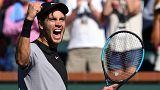 تنیس؛ راهیابی بورنا کوریچ به نیمه نهایی ایندین ولز
