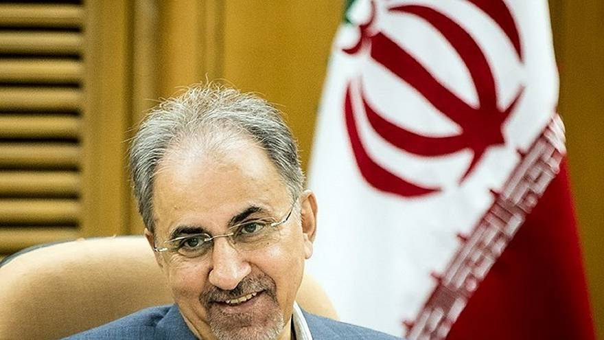 محمد علي نجفي في بلدية طهران