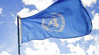 UN flag at the Calgary War Museums