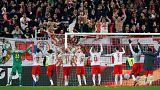 سالزبورگ اتریش از سد دورتموند گذشت و راهی مرحله یک چهارم نهایی لیگ اروپا شد