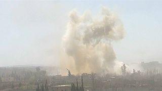 Mueren 31 civiles en bombardeos rusos contra bastión rebelde de Guta Oriental