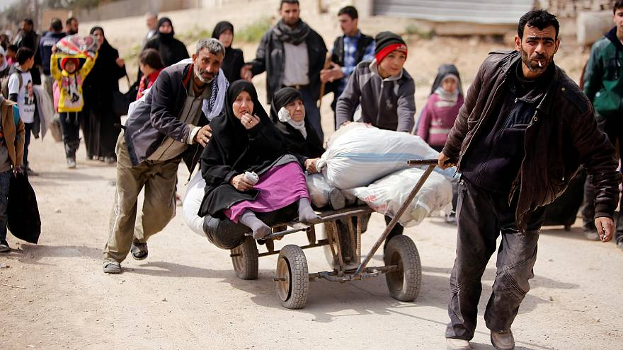 """""""Syrian refugees are the victims. They're not the perpetrators."""" - UNHCR's Volker Türk"""
