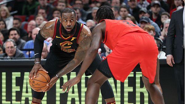 NBA : Portland trop fort pour Cleveland