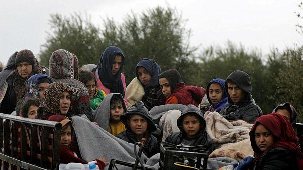 Siviller Afrin'den kaçıyor