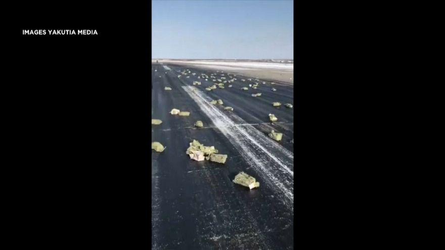 Russie : des lingots tombés du ciel
