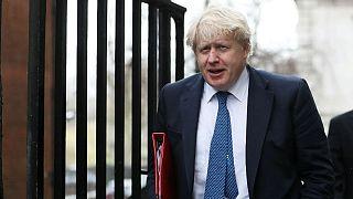 Britain's Foreign Secretary Boris Johnson