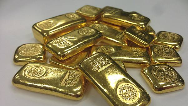 Generic photo of gold bars